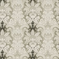 Charcoal Damask Decorator Fabric by Stroheim