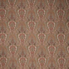 Winter Red Paisley Decorator Fabric by Stroheim