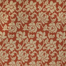 Brick Floral Decorator Fabric by Stroheim