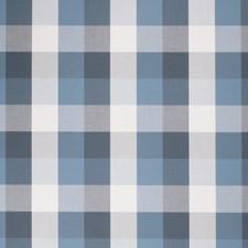 Danube Check Decorator Fabric by Stroheim