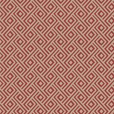 Poppy Geometric Decorator Fabric by Fabricut