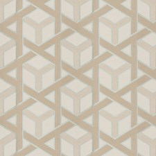 Aqua Lattice Decorator Fabric by Fabricut