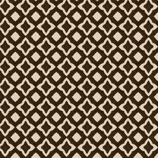 Mocha Print Pattern Decorator Fabric by Fabricut