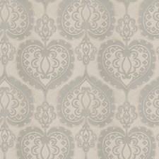Aqua Medallion Decorator Fabric by Trend