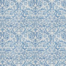 Delft Print Pattern Decorator Fabric by Vervain