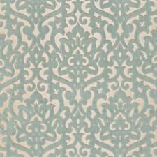 Aqua Decorator Fabric by F Schumacher