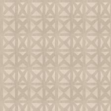 Limestone Geometric Decorator Fabric by Stroheim