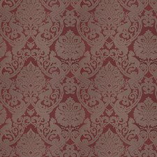 Autumn Red Animal Decorator Fabric by Vervain