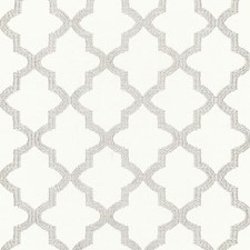 Silver Decorator Fabric by Schumacher