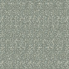Teal Small Scale Woven Decorator Fabric by Trend