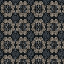 Ink Medallion Decorator Fabric by Trend