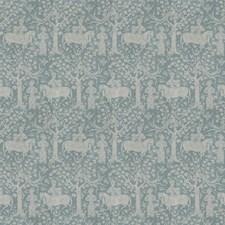 Bluestone Animal Decorator Fabric by Vervain
