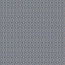 Bluedome Small Scale Woven Decorator Fabric by S. Harris