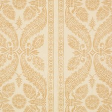 Soft Gold Print Pattern Decorator Fabric by Vervain