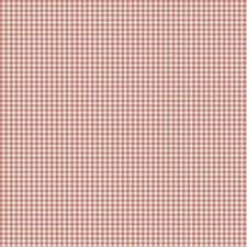 Orange Check Decorator Fabric by Trend