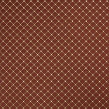 Scarlet Small Scale Woven Decorator Fabric by Trend