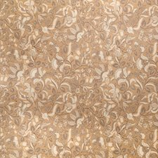 Amber Floral Decorator Fabric by Trend