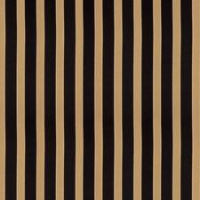 Black Stripes Decorator Fabric by Trend