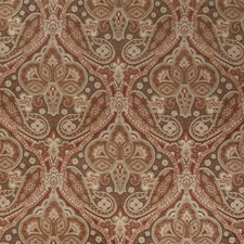 Auburn Paisley Decorator Fabric by Trend