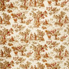 Garden Spice Print Pattern Decorator Fabric by Trend