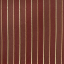 Cranberry Stripes Decorator Fabric by Trend