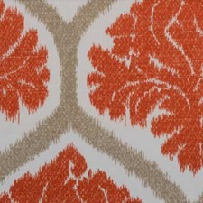 Natural/Russett Ethnic Decorator Fabric by B. Berger