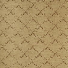 Brown Sugar Embroidery Decorator Fabric by Trend