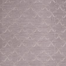 Mauve Embroidery Decorator Fabric by Trend