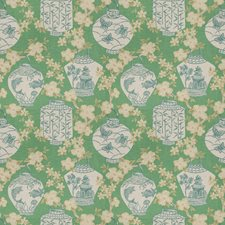 Peacock Asian Decorator Fabric by Trend