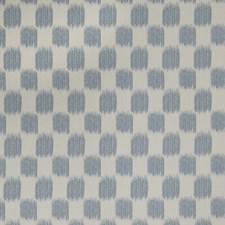 Denim Flamestitch Decorator Fabric by Trend