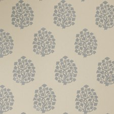Chambray Leaves Decorator Fabric by Trend
