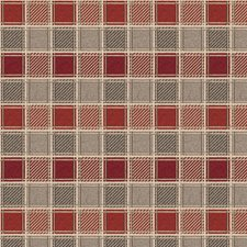 Gypsy Rock Check Decorator Fabric by S. Harris