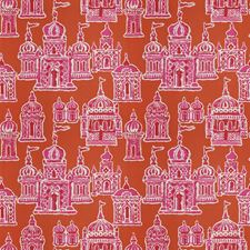 Pink Persimmon Global Decorator Fabric by Stroheim