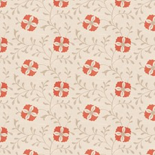 Coral Reef Embroidery Decorator Fabric by Trend