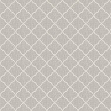 Off White Embroidery Decorator Fabric by Fabricut