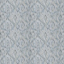 Seaside Embroidery Decorator Fabric by Stroheim