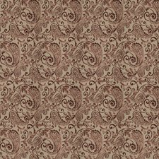 Brick Paisley Decorator Fabric by Trend