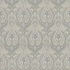 Opal Paisley Decorator Fabric by Trend
