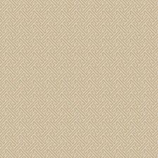 Gold Geometric Decorator Fabric by Fabricut