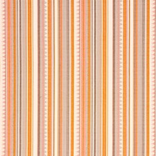 Orange/Pink Decorator Fabric by Schumacher