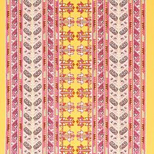 Pink/Yellow Decorator Fabric by Schumacher