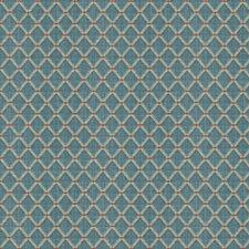 Slate Blue Diamond Decorator Fabric by Brunschwig & Fils