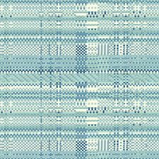 Sky Geometric Decorator Fabric by Brunschwig & Fils
