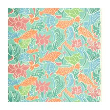 Coral Reef Tropical Decorator Fabric by Brunschwig & Fils