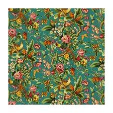 Blue Botanical Decorator Fabric by Brunschwig & Fils