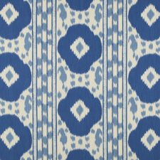 Navy/Sky Ikat Decorator Fabric by Brunschwig & Fils