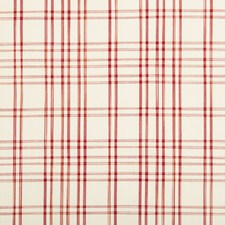 Red Plaid Decorator Fabric by Brunschwig & Fils