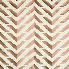 Cafe/Petal Geometric Decorator Fabric by Brunschwig & Fils