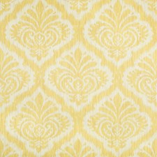 Canary Damask Decorator Fabric by Brunschwig & Fils