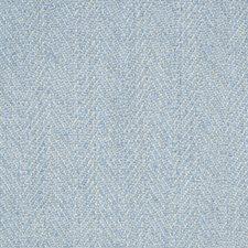 Sky Herringbone Decorator Fabric by Brunschwig & Fils